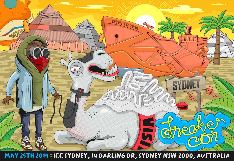 Sneaker Con Sydney